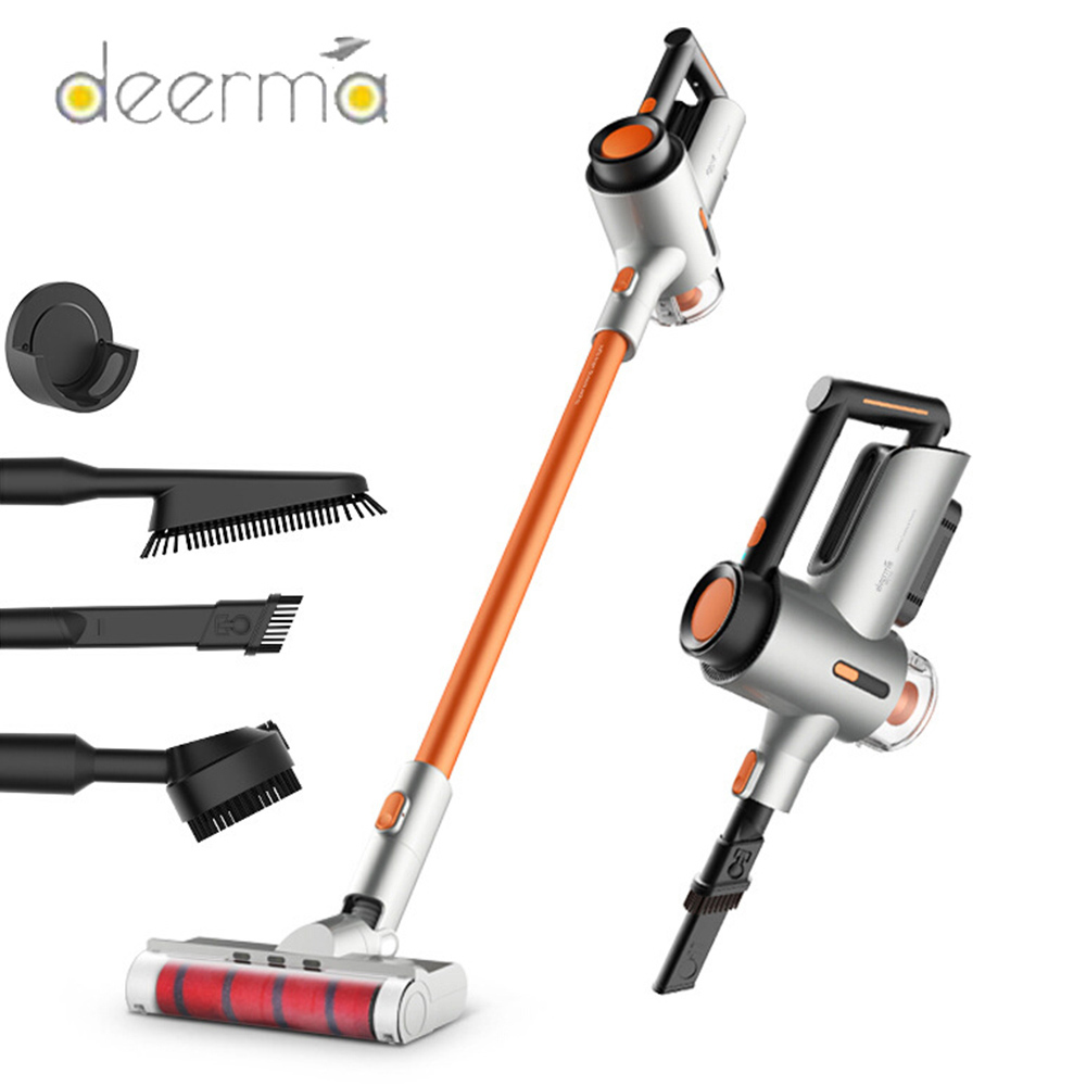 2020 Deerma VC50 VC40 VC20 Wireless Vacuum Cleaner Handheld Wireless Strong Suction Low Noise With Night Light Vacuum Cleaner