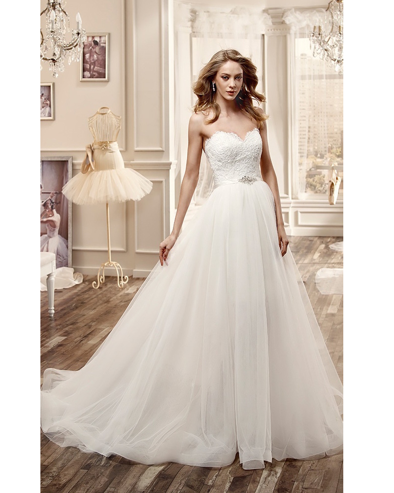 Vestido De Novia White Detachable Skirt Wedding Dress 2016 Bridal Gown Vestido De Noiva Plus Size Wedding Gown