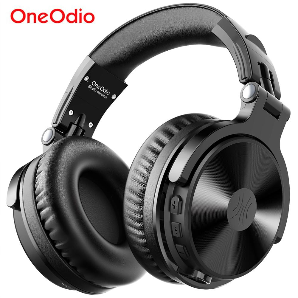 Oneodio Over Ear <font><b>Bluetooth</b></font> <font><b>Headphones</b></font> Sport Stereo Wired Wireless Headset <font><b>Bluetooth</b></font> <font><b>5.0</b></font> <font><b>Headphone</b></font> With CVC8.0 Mic For Phone AAC image