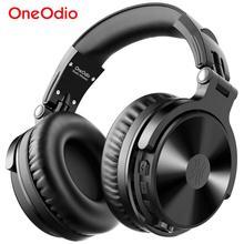 Oneodio sobre a orelha bluetooth fones de ouvido estéreo com fio sem fio fone de ouvido bluetooth 5.0 com cvc8.0 mic para o telefone aac código