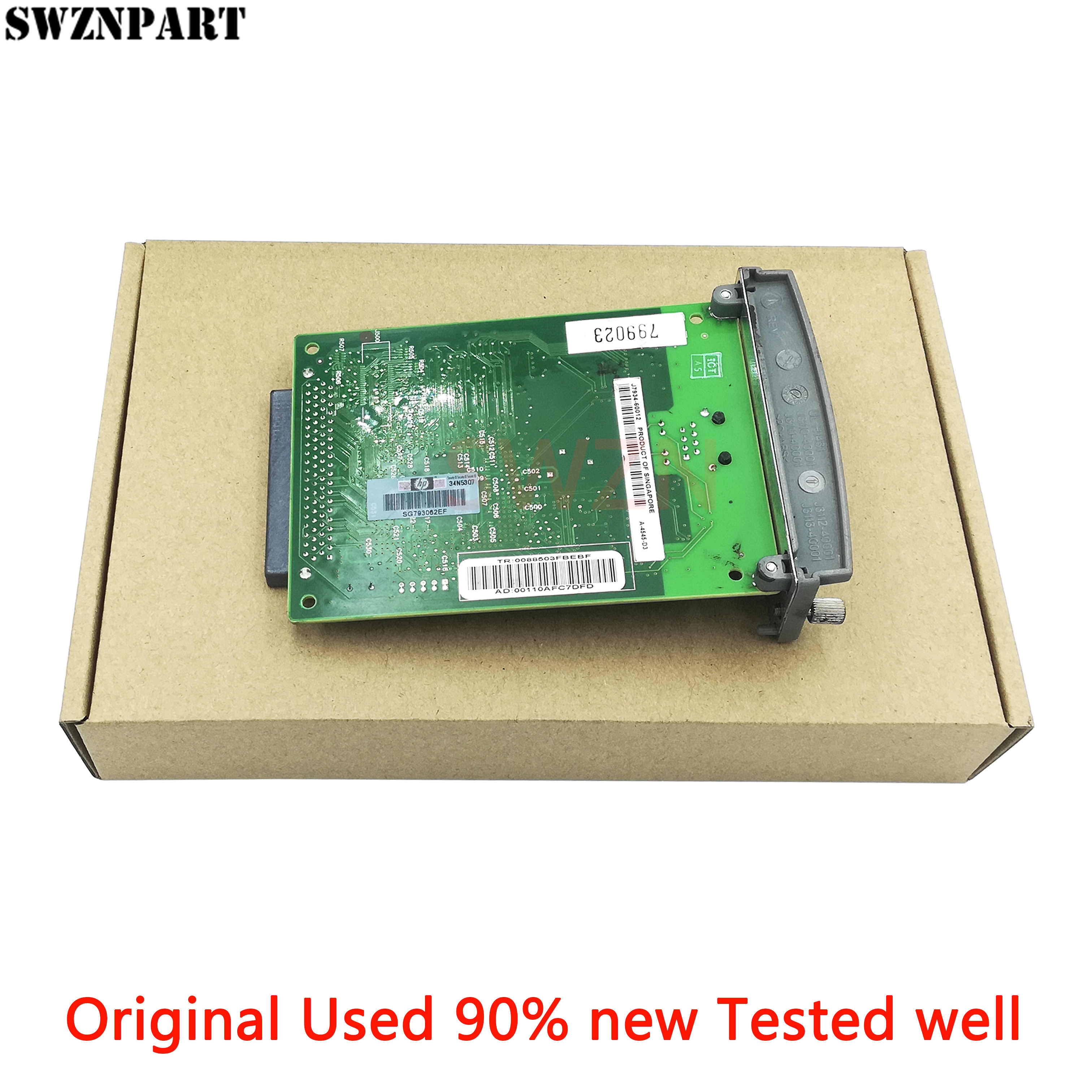 Ethernet Print Server Internal Kartu Jaringan untuk HP Jetdirect 620N J7934A J7934G 4200 4250 5500 5550 3005 5200 2100 2200 2400 500