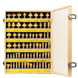 Hoge Archieven 70 stuks Pak Timmerwerk Frezen hout Cutter Trimmen Carving Machine Bakeliet Frezen Carbide