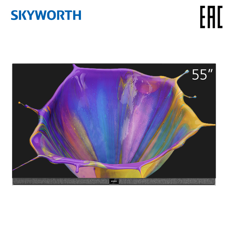 television <font><b>55</b></font> <font><b>inch</b></font> OLED <font><b>TV</b></font> Skyworth 55S9A 4K AI smart <font><b>TV</b></font> Android 9.0 image