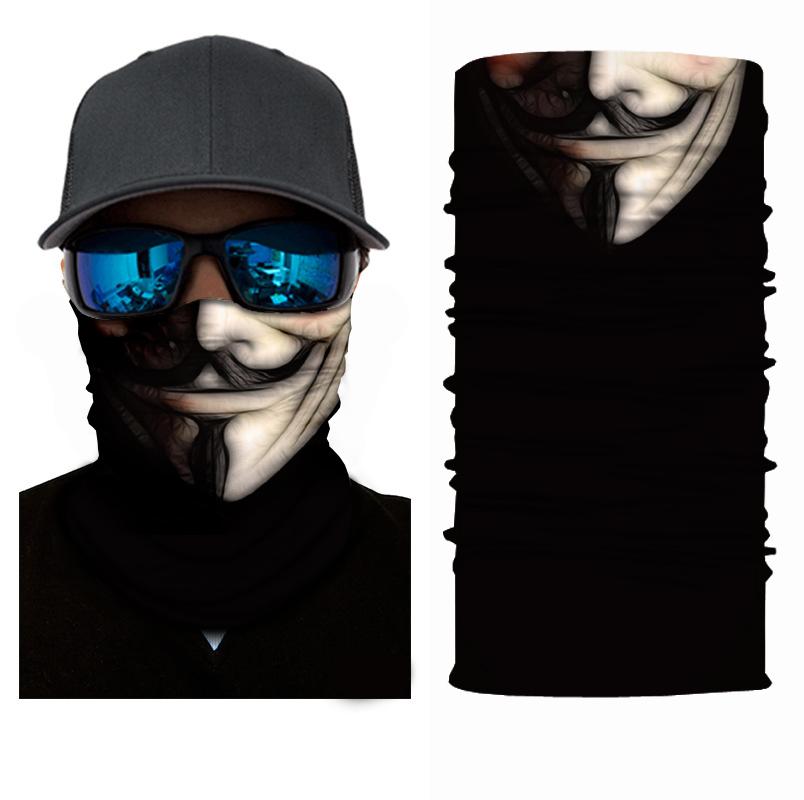 Фильм велосипед бандана лицо маска бесшовные ветрозащитный шея гетры рыбалка пешие прогулки балаклава головной убор мото спорт бандана мужчины