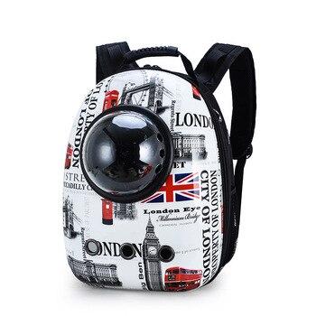 14 colors New Capsule Pet Bag Backpack Breathable Space Pet Backpack Sac De Transport Pour Chat Waterproof Traveler Knapsack - Color 5