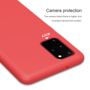 Image 5 - for Samsung S20 Ultra Case NILLKIN Liquid Smooth Silicone Case For Samsung Galaxy S20+ / S20 Ultra 5G Cover Protective Bags