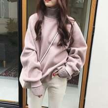 Пуловер с имитацией Двойка плюс бархатные плотные толстовки