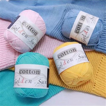 100% Cashmere Cotton Yarn for Knitting Crochet Hand Baby Wool Cotton Yarn Lot for Weaving Baby Yarn for Hand Knitting Supplies image