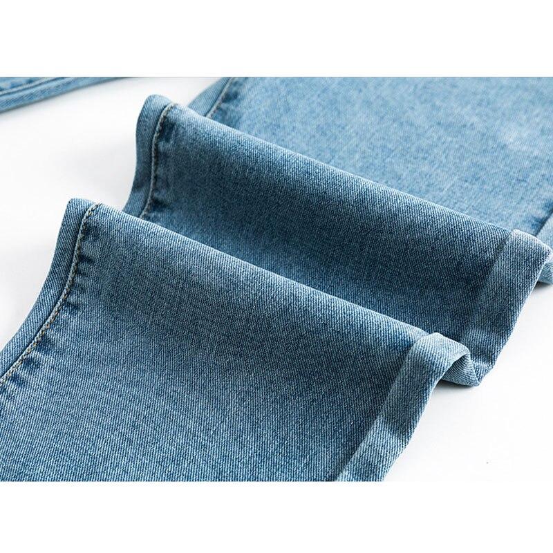 Jeans Abdominal-Pants Boyfriend High-Waist Pregnant-Women Denim Trousers Loose