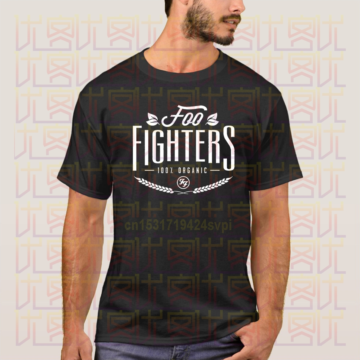 100% cotton T Shirt Hot Topic Sleeve women'S Crew Neck Foo Fighters Organic Dave Grohl Rock Short Compression T Shirts image