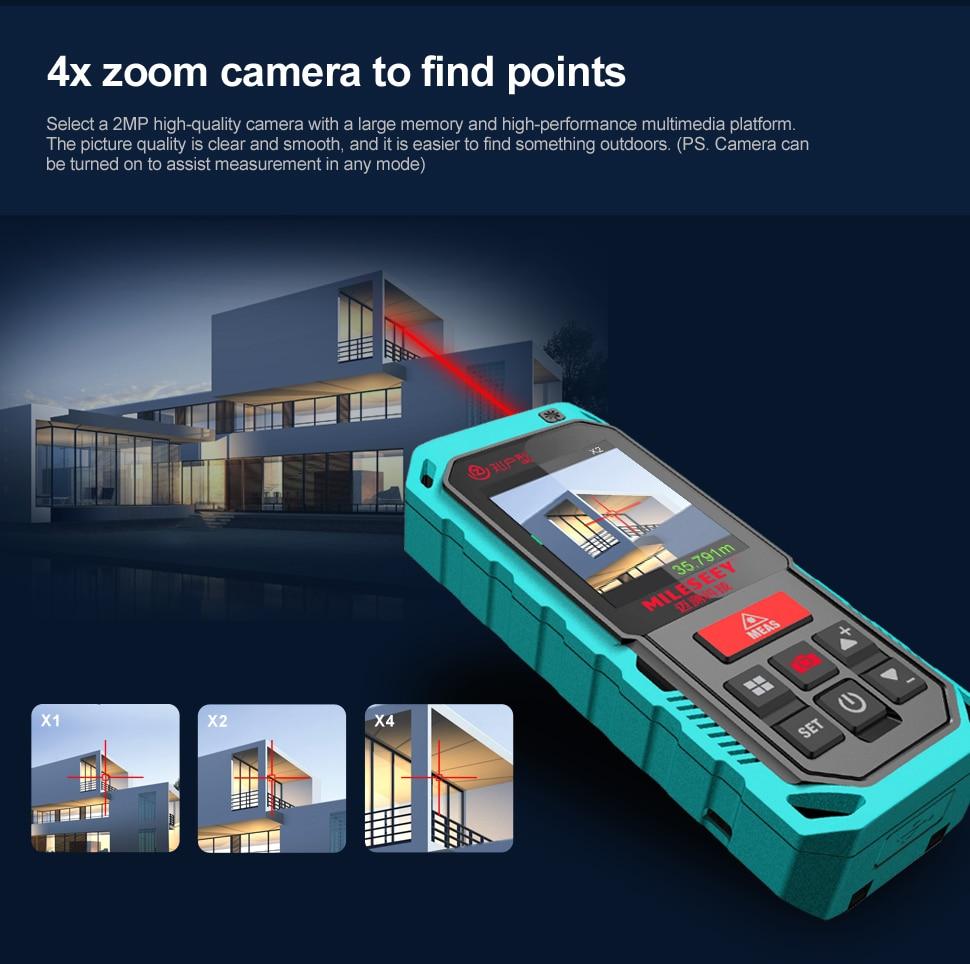 Купить mileseey наружный лазерный distanc метр профессиональный измеритель