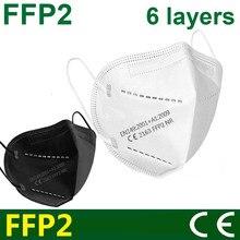 CE FFP2 máscara KN95 máscaras faciales maske proteger máscara ffp2mask polvo máscara de boca PM2.5 95% de mascarillas tapabocas