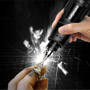 Image 4 - Dremel Style 110V 220V Mini Electric Drill engraver Rotary Tool Grinding Machine Dremel Variable Speed Rotary Tool Accessories