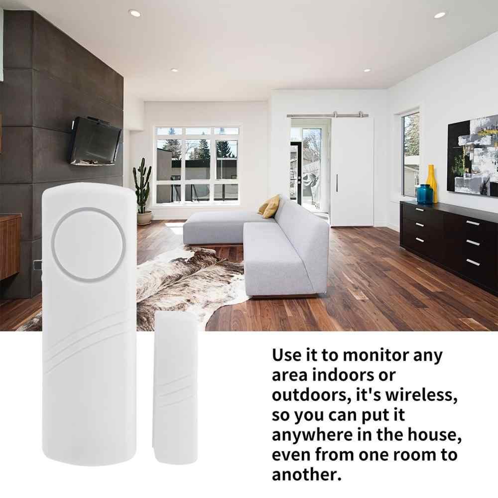 Jendela Pintu Nirkabel Alarm Anti Maling dengan Sensor Magnetik Pintu Masuk Anti Pencuri Alarm Rumah Keamanan Sistem Perangkat Grosir
