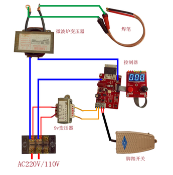 NY-D02Spot spawaczy płyta sterowania transformator kontroler precyzja podwójny impuls enkodera aktualny czas panelu sterowania tanie i dobre opinie