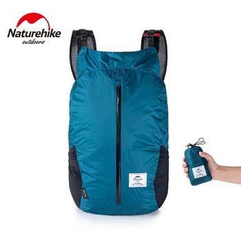 Складной рюкзак (Naturehike/25 л/30х48х20 см/3 цвета) + чехол (15х8 см)