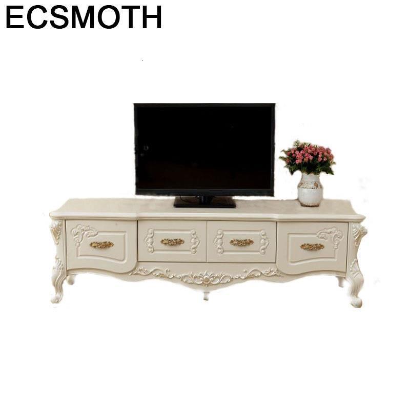 Bureau Computer Para Wood Ecran Plat Soporte Cabinet European Wodden Monitor Meuble Mueble Living Room Furniture Tv Stand