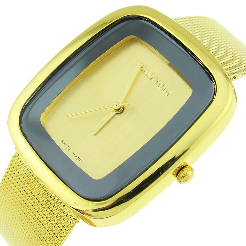 Micro Taobao Shop WISH Hot Popular Mesh Belt Watch Fashion Female Table A Undertakes