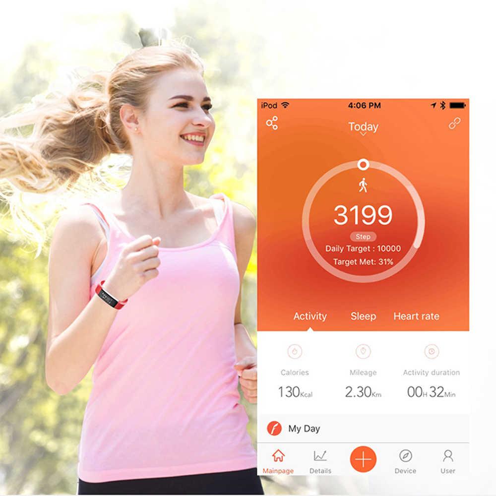 2019 สร้อยข้อมือนาฬิกาผู้หญิงผู้ชาย LED กันน้ำสมาร์ทข้อมือ Band อัตราการเต้นหัวใจความดันโลหิต Pedometer นาฬิกาสำหรับ Android iOS