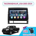 9 ''IPS Android 9 TOYOTA TACOMA & HILUX_USA 2005-2012/2013/2014 автомобильный Радио Мультимедиа GPS навигация Navi плеер Авто стерео WIFI