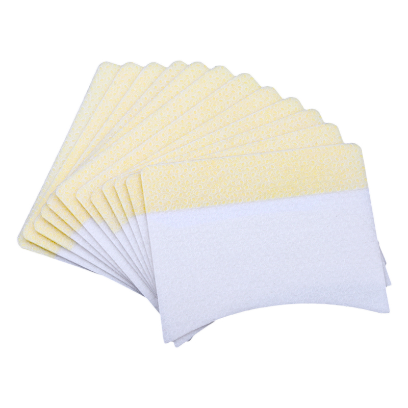 40pcs  Eyelash Extension Remover Cotton Pads Eye Pillow Pads Under Eye Protection Patches For Removing Grafting Eyelash