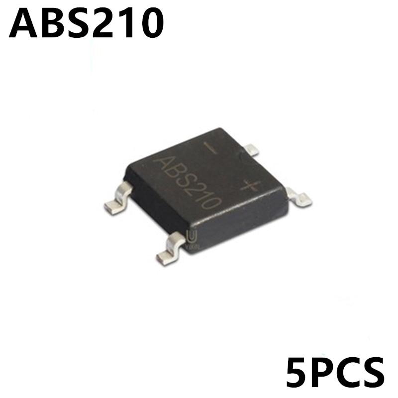 10pcs ABS210 SMD SOP-4 Bridge Stack Rectifier Bridge New Spot