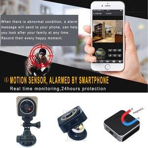 Image 3 - Mini cámara Wifi de 150 grados, gran angular, IR, visión nocturna, H5, Micro Cam, compatible con tarjeta TF oculta, videocámara DVR secreta