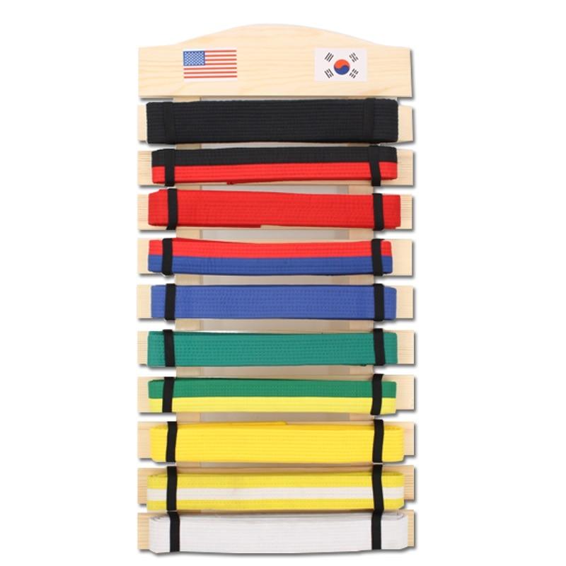 martial arts karate stands taekwondo judo belt display holder karate belt racks wooden display stands
