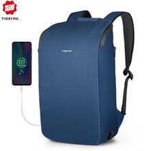 Tigernu 2020, новинка, высокое качество, водонепроницаемые, для путешествий, рюкзаки для мужчин, большая вместимость, 15,6 дюймов, для ноутбука, противоударные, модные, школьные рюкзаки