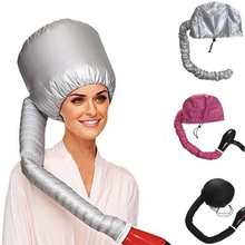 Портативный Мягкий головной убор для сушки волос женский фен