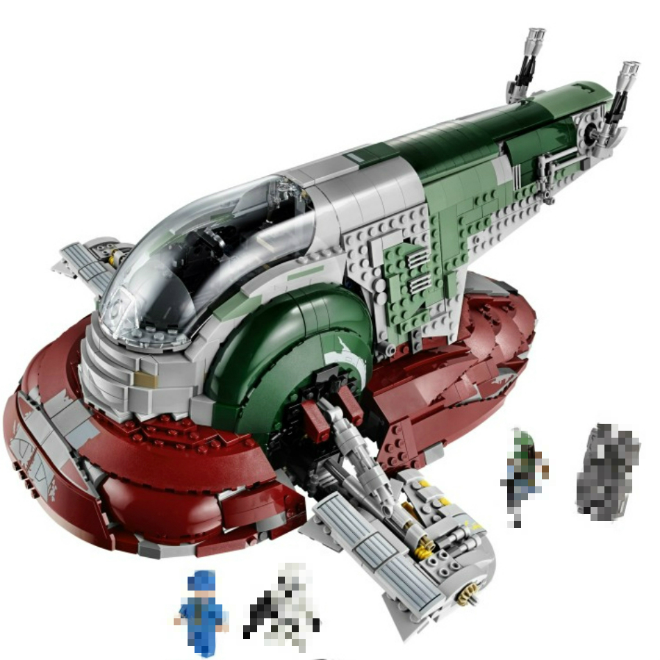 Building Block 2067pcs Space Compatible War Universe 75060 <font><b>05037</b></font> Slave-I Model Brick Children Educational Toy Gift Free Shipping image