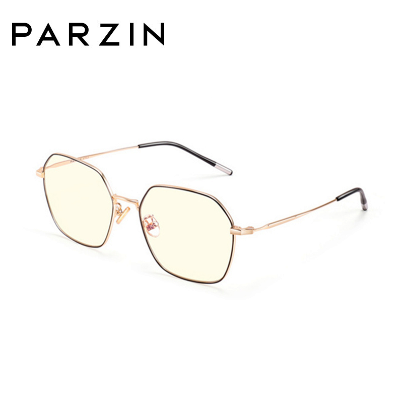 PARZIN Anti Blue Light Glass Men Reading Goggles Protection Eyewear Eyeglasses Spectacles Gaming Computer Glasses for Women image
