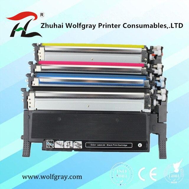 Cartouches de toner compatibles pour samsung 406s k406s CLT 406S CLT K406S C406S Y406S CLP 360 365w 366W CLX 3305, C460FW 3306FN 3305W
