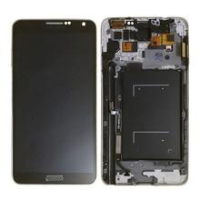 N9005 Lcd Voor Samsung Note 3 Lcd Touch Screen Digitizer Vervangende Onderdelen N9005 Display Voor Galaxy Note 3 Lcd Frame knop