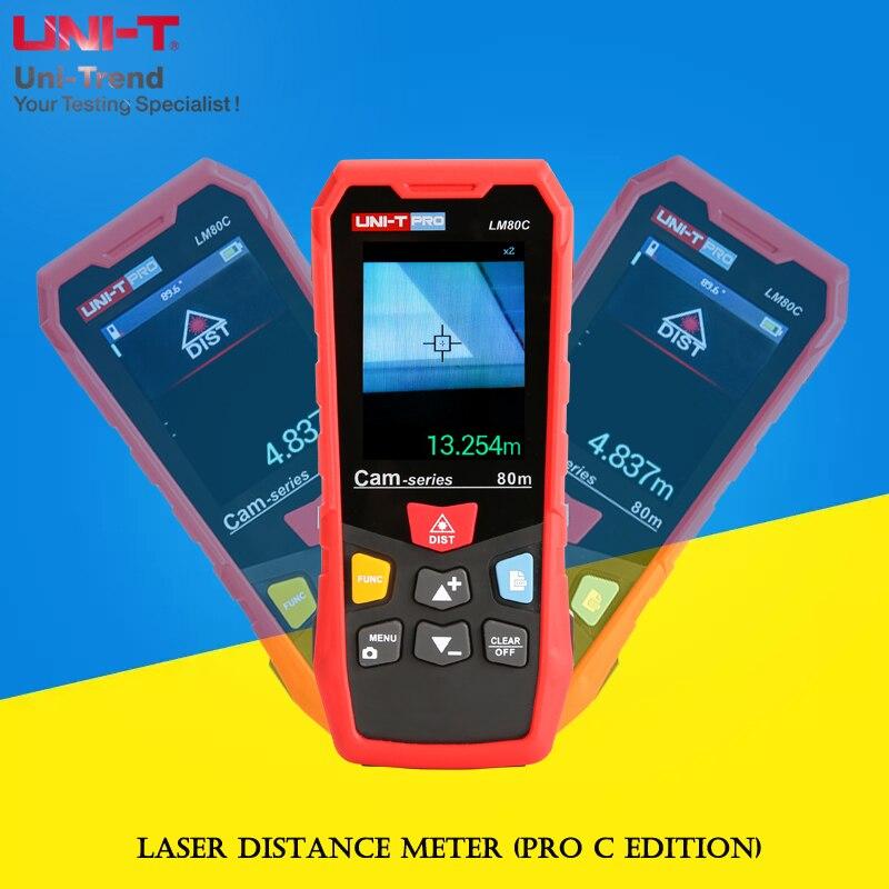 UNI-T LM80C/LM120C/LM200C medidor de distancia láser (edición Pro C); 80/120/200m pantalla digital láser regla electrónica Antena del router 5G CPE PRO, panel direccional de doble polarización, antena de larga distancia de 3400 a 3600mhz, antena 5g, cables de 3 metros TS9