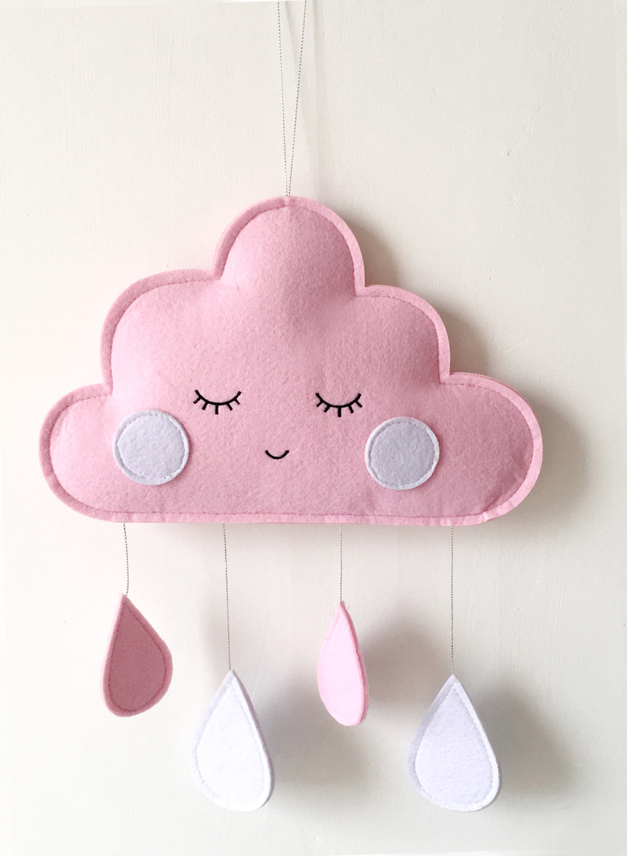Baby Bedroom Decor Hanging Toys Clouds Rainy Newborn Hanging Ornaments Baby Decoration Room Kids Room Decoration Water Droplets Bumpers Aliexpress