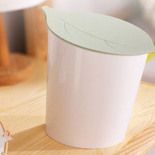 Mini Desktop Storage Bucket Creative Garden Health Home Office Kitchen Debris Trash Durbale Plastic