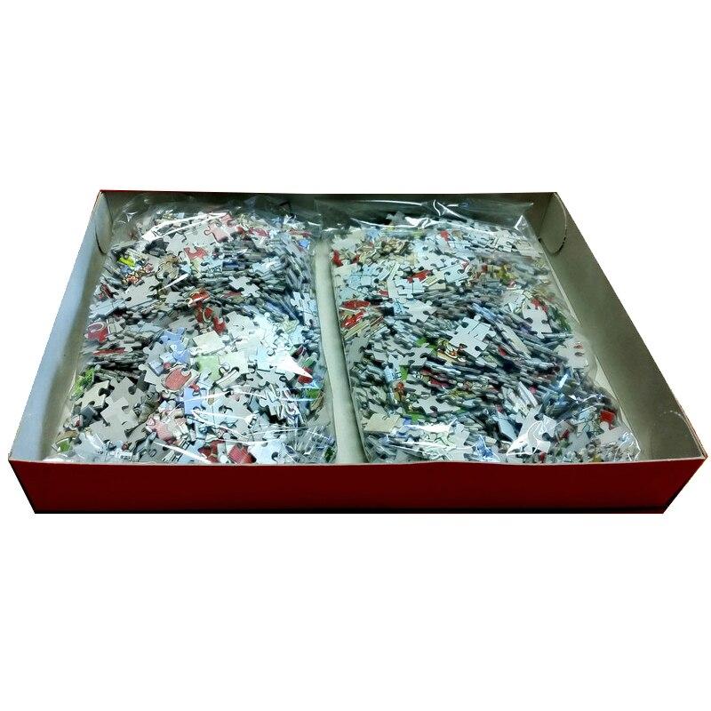 Puzzle 3000 pièces 92x68 cm Puzzle pour adulte shapeng Puzzle enfants jouets cadeau Petrapetosa jouets éducatifs puzzle jeu - 3