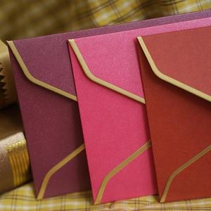 Image 5 - 20 Stks/partij #5 Enveloppen Retro Parel Papier Enveloppen Bruiloft Uitnodiging Wenskaarten Gift Drop Shipping 220 Mm X 110 Mm