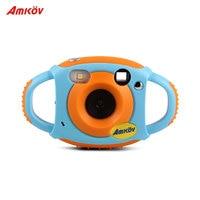 Amkov Digital Video Camera Max. 5 Mega Pixels 1.44 Display Christmas Gift New Year Present for Kids Children Boys Girls