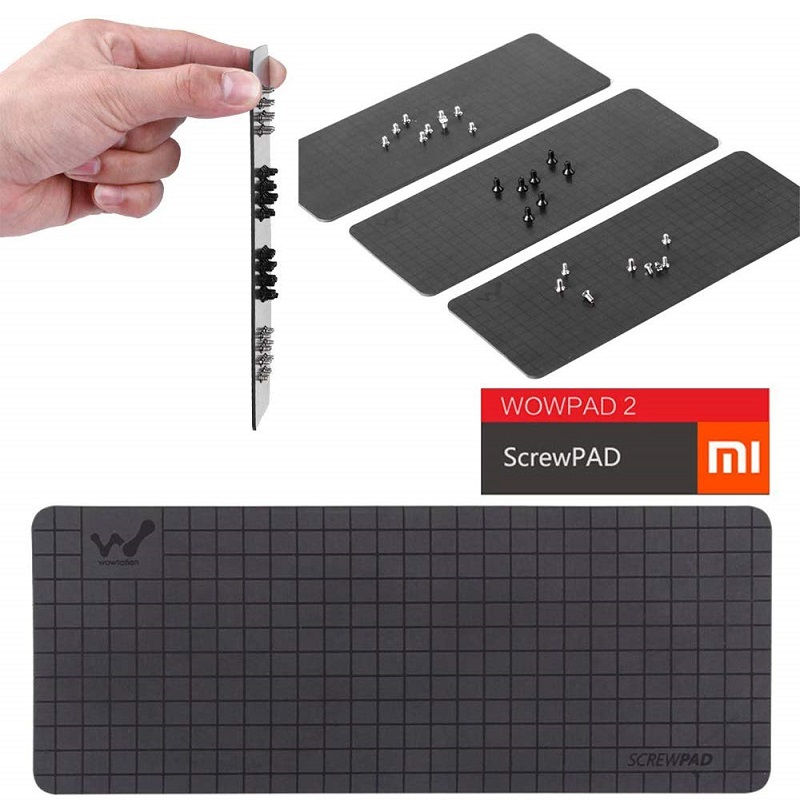 Repair Tools Plastic Organizer Plate Practical Keeper RC Toys Working Mat Digital Cameras Position Guide Magnet Screw Pad Chart