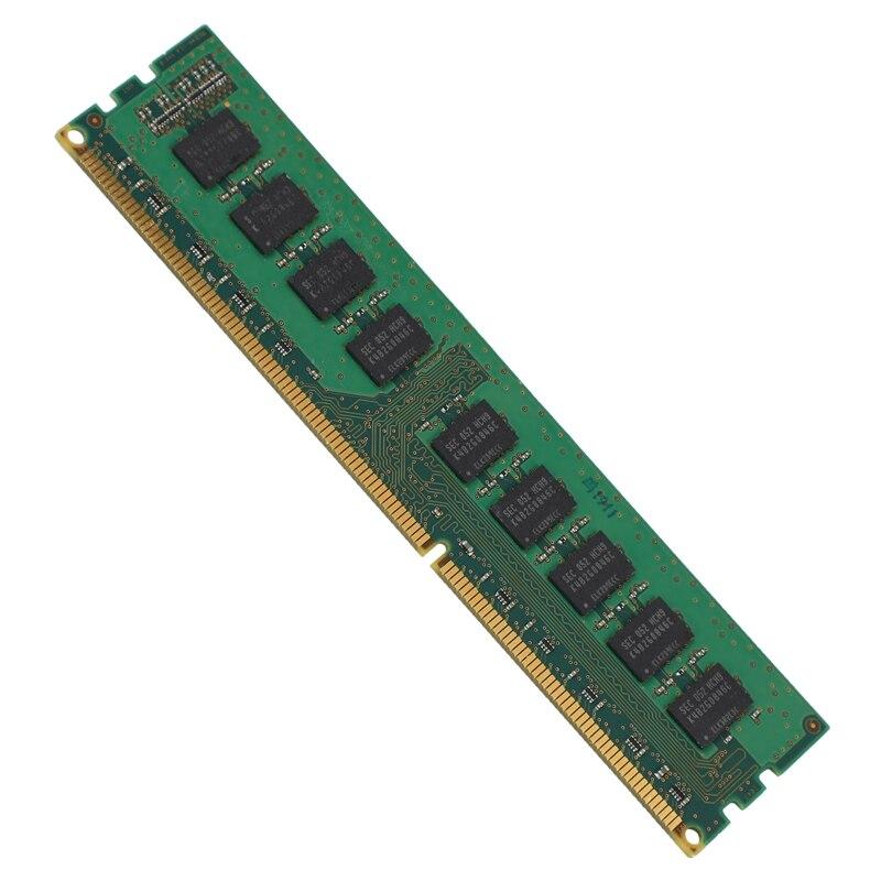 Unbuffered para a Estação de Trabalho do Servidor Ram da Memória de 4 Ddr3 1333 Mhz Ecc 4g gb 2rx8 Pc3-10600e 1.5 v Mod. 1281375
