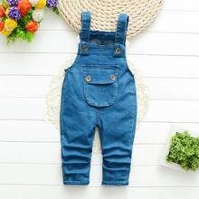 Детский джинсовый комбинезон diimuu для девочек повседневная