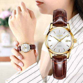 Fashion Simple Ladies Wrist Watches Luminous Women Watches Casual Leather Strap Quartz Watch Clock Montre Femme Relogio Feminino shengke women s watches fashion leather wrist watch vintage ladies watch irregular clock mujer bayan kol saati montre feminino