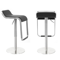 Stainless steel bar stools modern furniture round revolve go up and down barstools chair counter commercial furniture