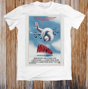 Airplane 80s Movie Poster Unisex T Shirt