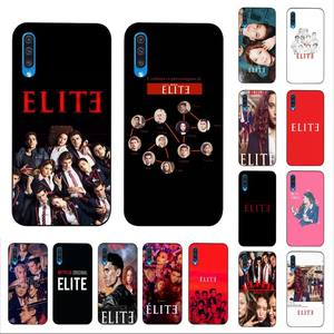 LVTLV Spanish TV series Elite Soft Silicone Black Phone Case for Samsung A10 20s 71 51 10s 20 40 50 70 A30s cover