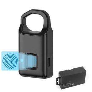 Smart intelligent  Fingerprint Lock Keyless Anti theft  travel Luggage bag office Electronic Smart Locksmith|Anti-theft Lock| |  -