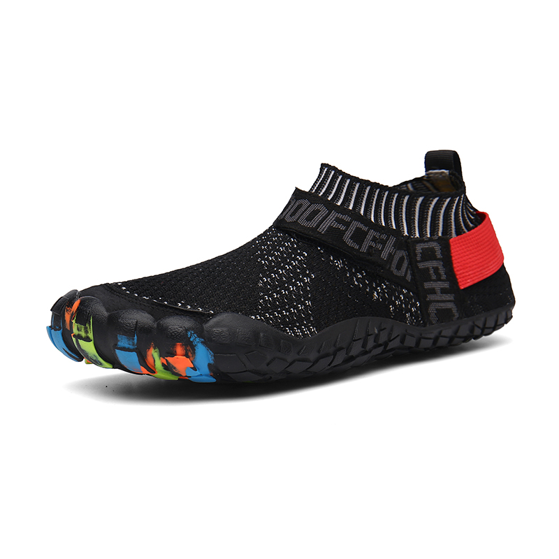 Men And Women Aqua Shoes Comfortable Quick Dry Breathable Waterproof Non-slip Lightweight Elastic Outdoor Beach Hiking Sneakers