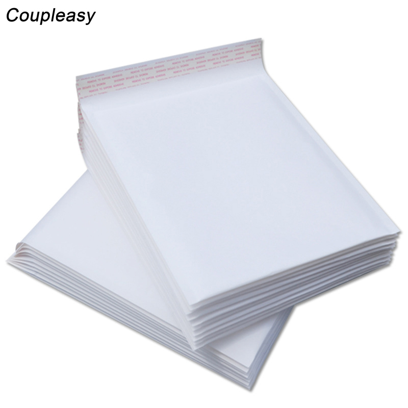 50 шт. новые белые конверты из крафтовой бумаги, конверты с пузырьками, конверты для почтовых отправлений, мягкие конверты для доставки, водо...
